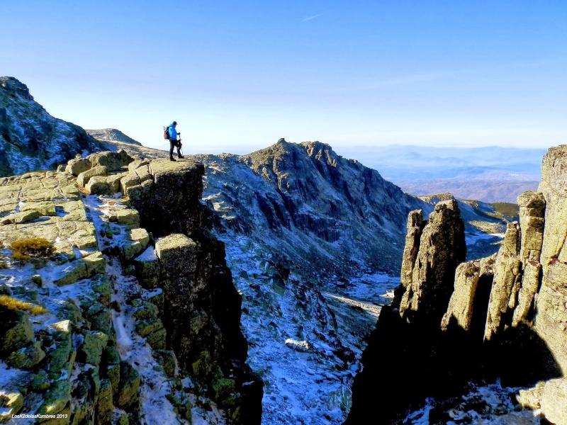 Montañismo: domingo 5 de octubre 2014 - Ascensión al Canchal de la Ceja (2.428 m.) y al Torreón (2.401 m.) Pc140110