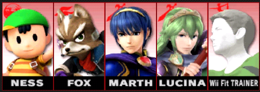 Post your Smash Bros. 4 Roster here! Roster10