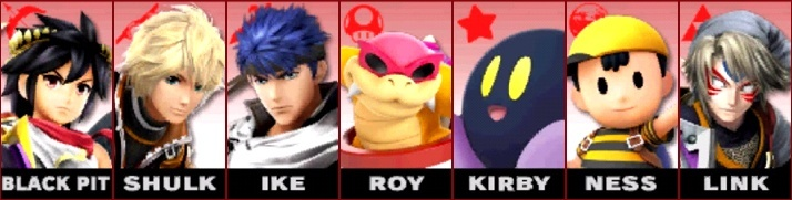 Post your Smash Bros. 4 Roster here! Mains10
