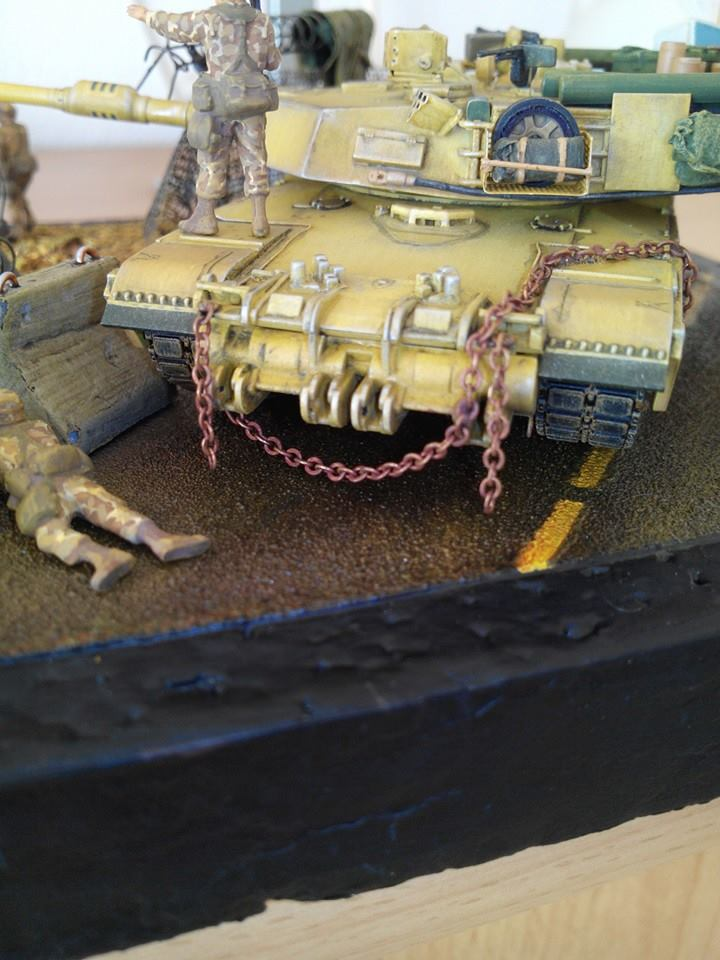 char lourd us.abrams M1 mine roller.1/72 trumpeter. - Page 7 10473710