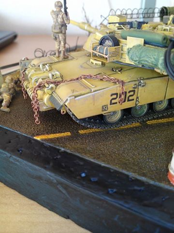 char lourd us.abrams M1 mine roller.1/72 trumpeter. - Page 7 10557110