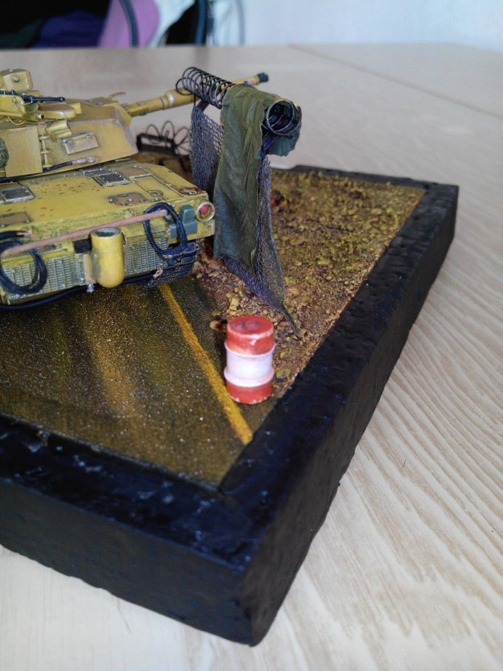 char lourd us.abrams M1 mine roller.1/72 trumpeter. - Page 6 10606210