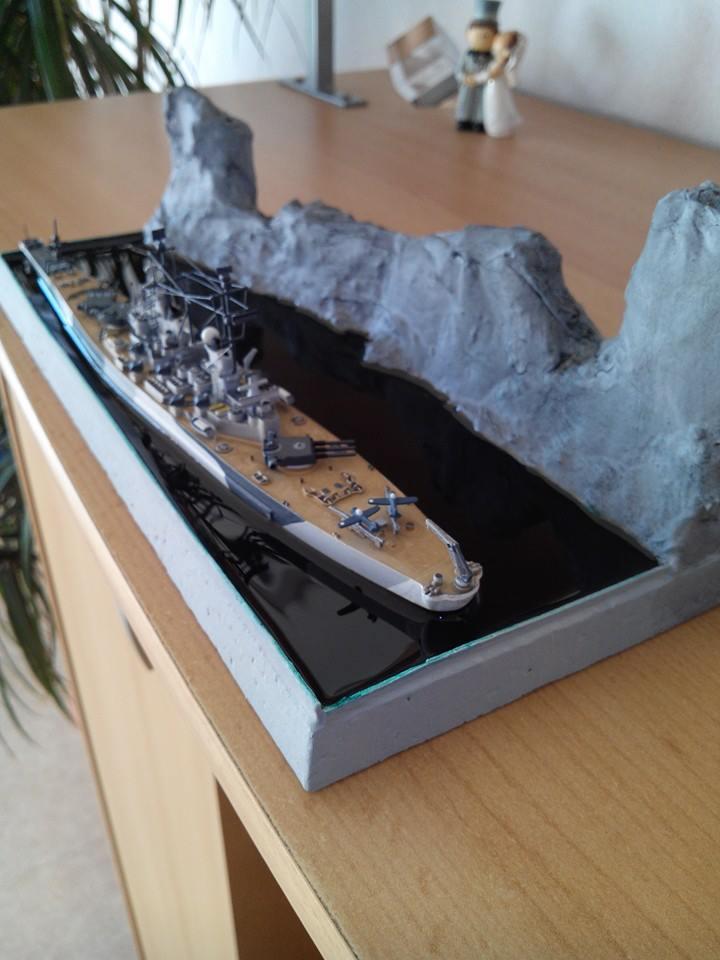 battleship.USS IOWA.kit revell 1/1200 - Page 2 13803510