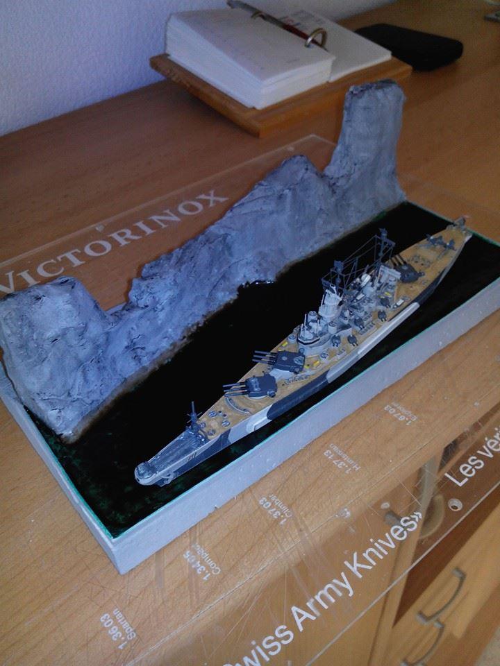 battleship.USS IOWA.kit revell 1/1200 13816010