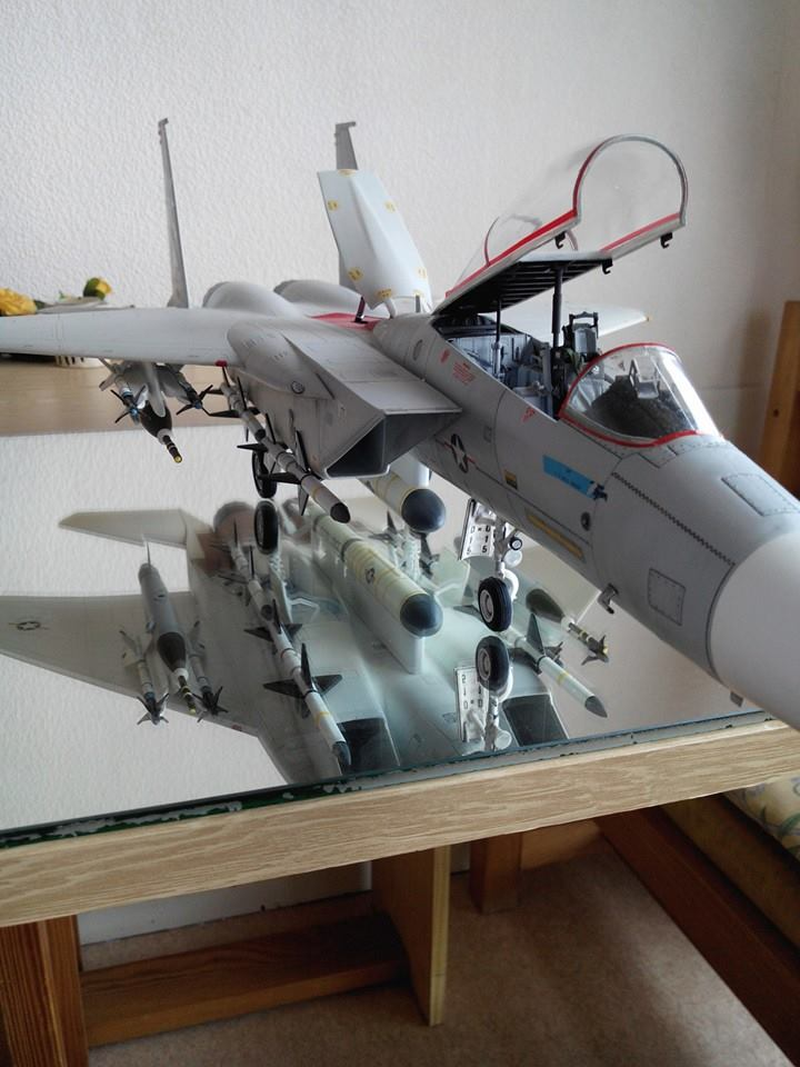 F 15C EAGLE.kit revell au 1/32 plus kit d'amelioration AIRES resine - Page 2 14507910