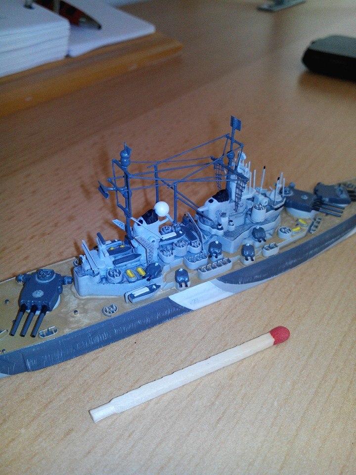 battleship.USS IOWA.kit revell 1/1200 14509610