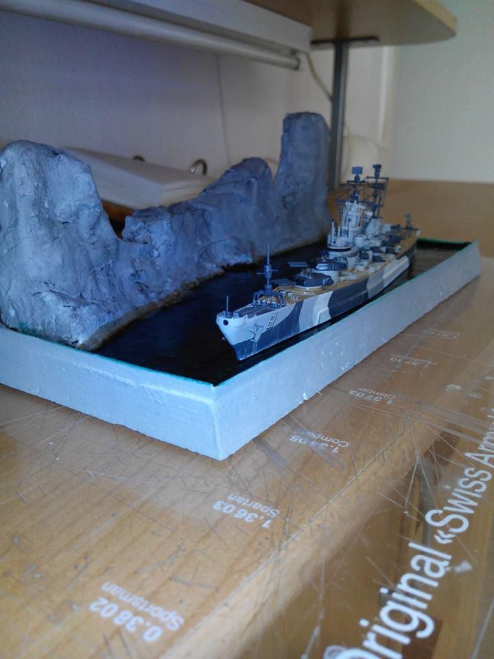 battleship.USS IOWA.kit revell 1/1200 19001310