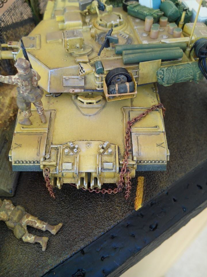 char lourd us.abrams M1 mine roller.1/72 trumpeter. - Page 7 52414910