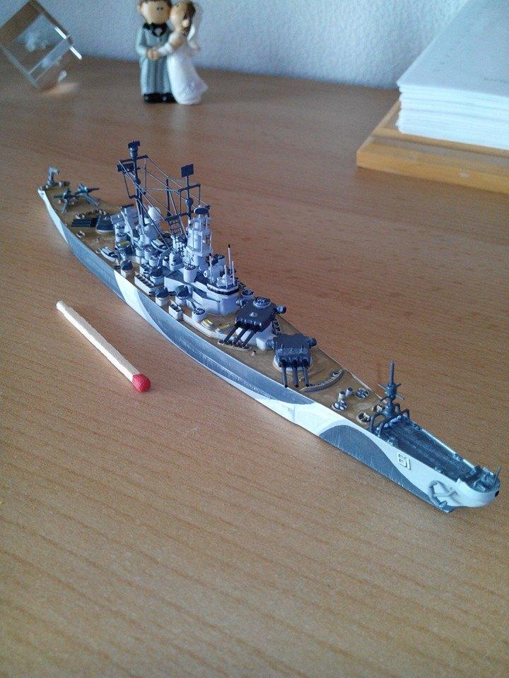 battleship.USS IOWA.kit revell 1/1200 68966_10