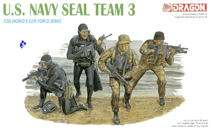 navy seals.boite dragon 3025 1/35. Dragon12