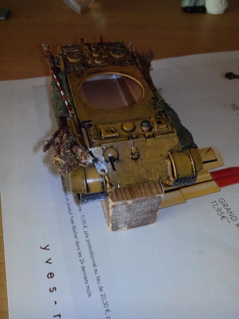 char tigre WWII.kit fujimi au 1/72. Img_2470