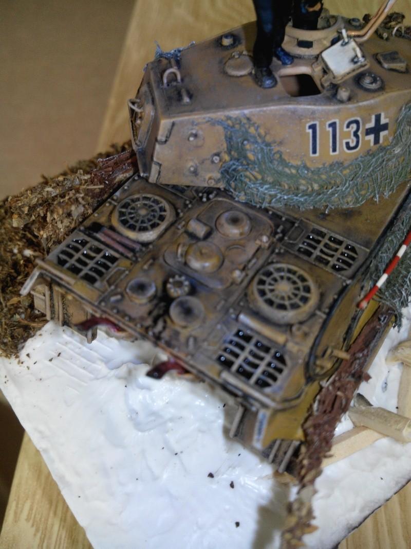 char tigre WWII.kit fujimi au 1/72. Img_2518