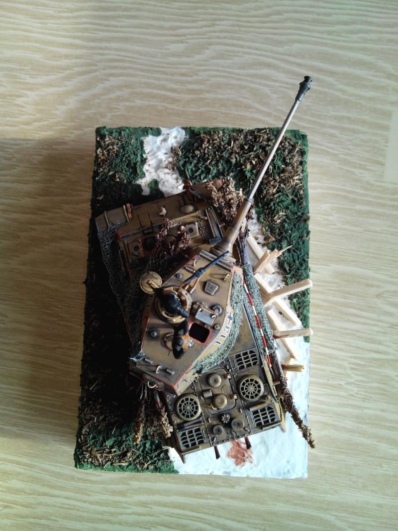 char tigre WWII.kit fujimi au 1/72. Img_2558