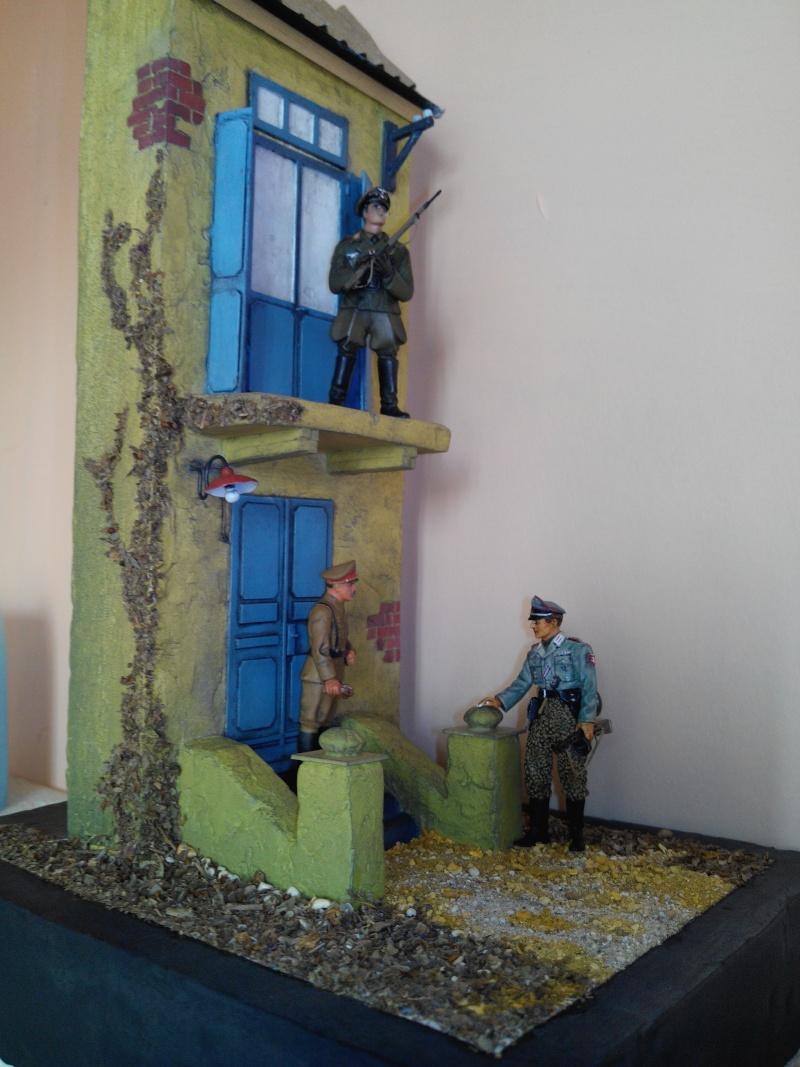 réalisation d'une base pour soldats WWII.1/35. Img_2559