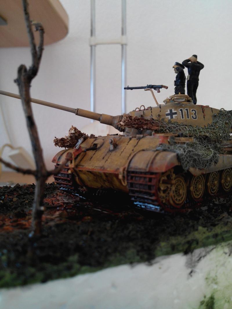 char tigre WWII.kit fujimi au 1/72. Img_2566