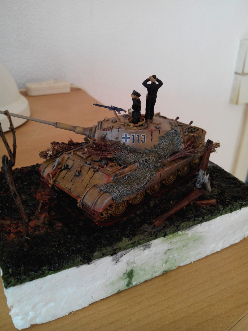 char tigre WWII.kit fujimi au 1/72. Img_2568