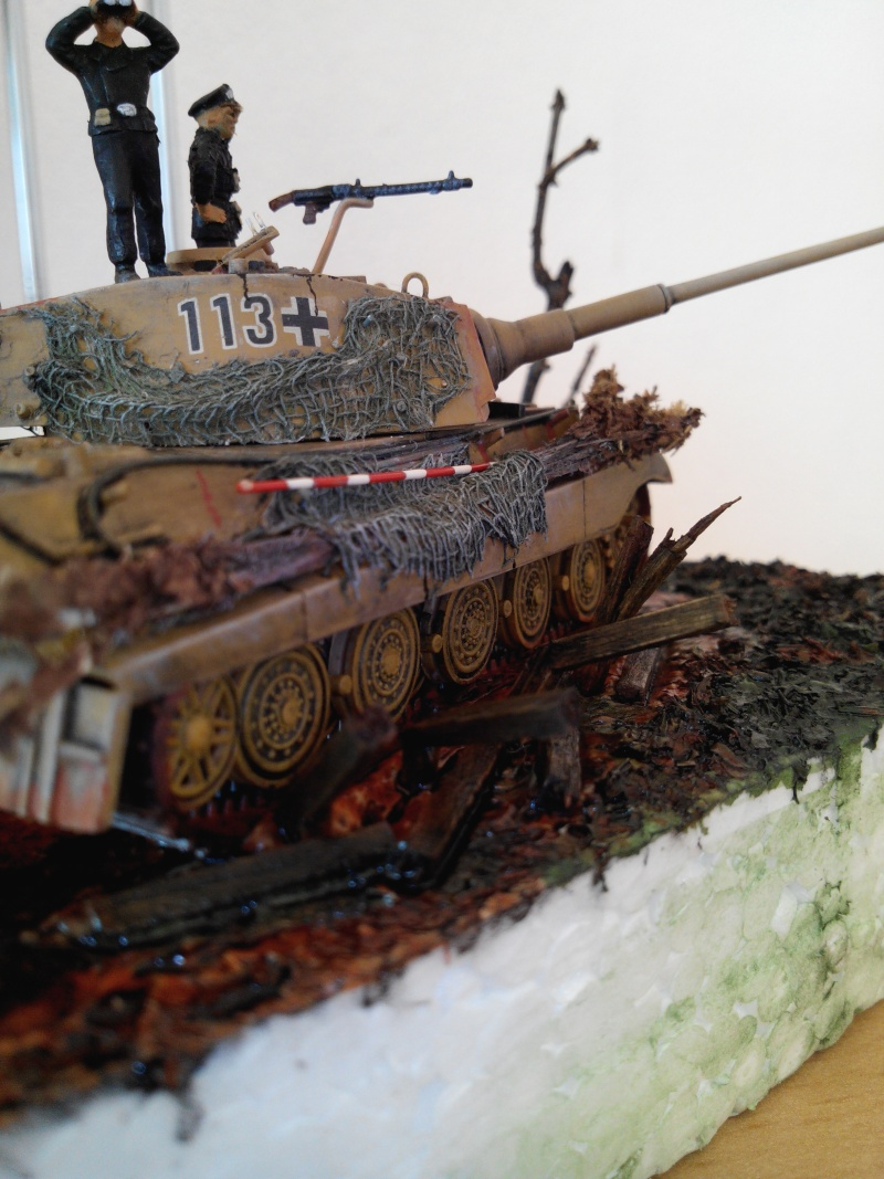 char tigre WWII.kit fujimi au 1/72. Img_2569