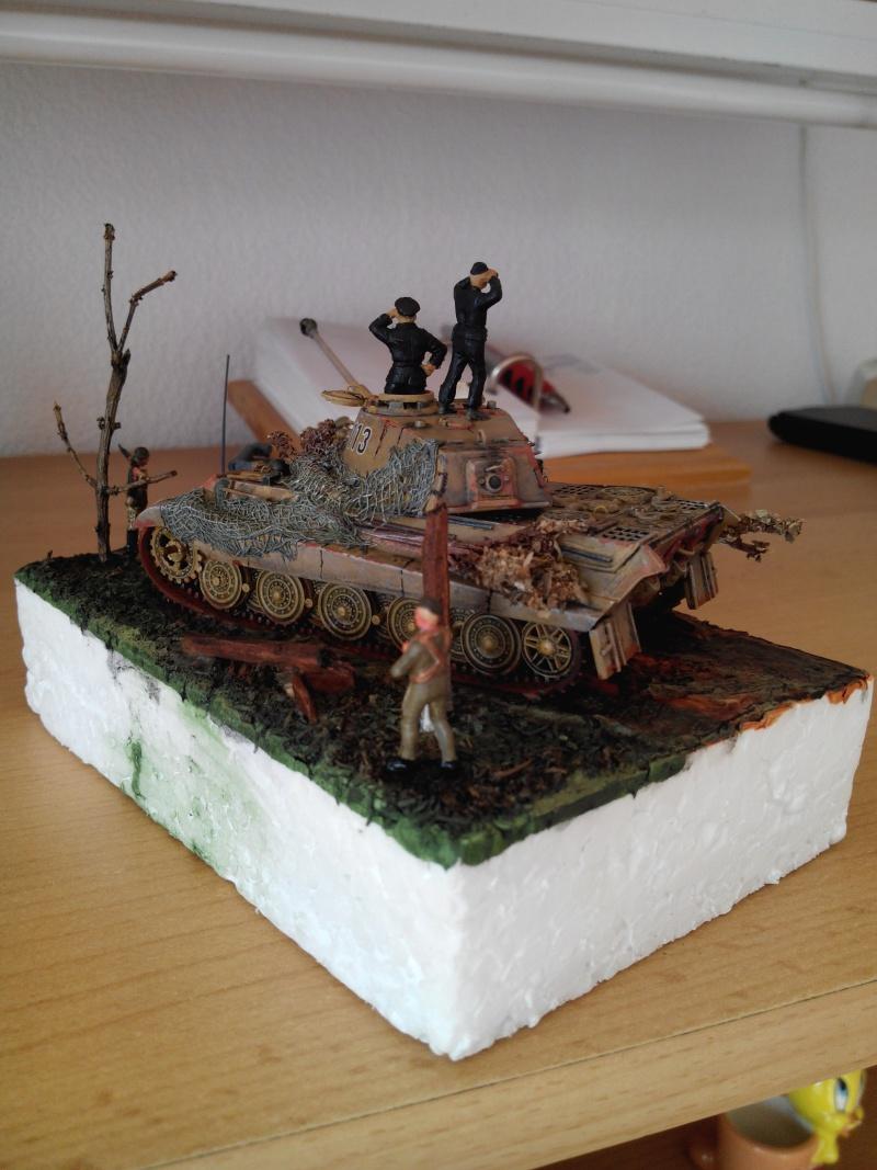 char tigre WWII.kit fujimi au 1/72. Img_2746