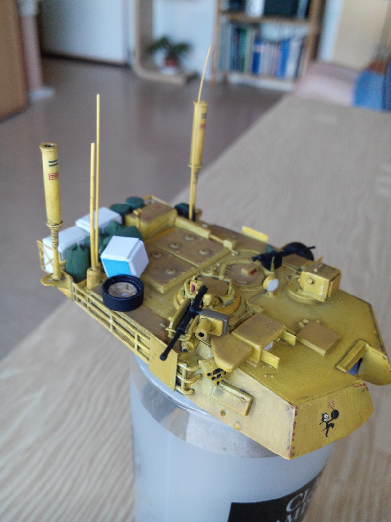 char lourd us.abrams M1 mine roller.1/72 trumpeter. - Page 4 Img_2924