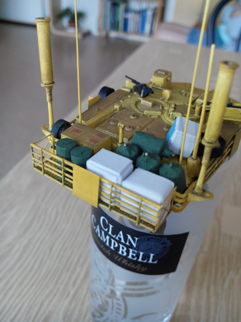 char lourd us.abrams M1 mine roller.1/72 trumpeter. - Page 4 Img_2925