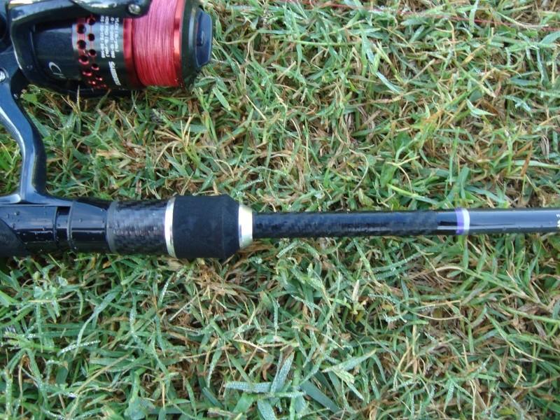 """Lamiglas XP Bass PRO 904 1/4-1 10-20 LB 7'6"""" Dsc04612"""