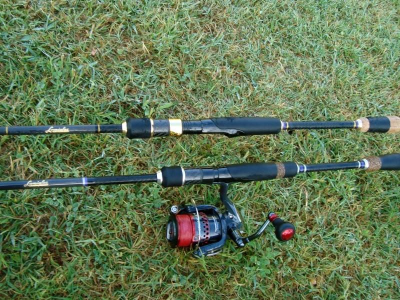"""Lamiglas XP Bass PRO 904 1/4-1 10-20 LB 7'6"""" Dsc04618"""