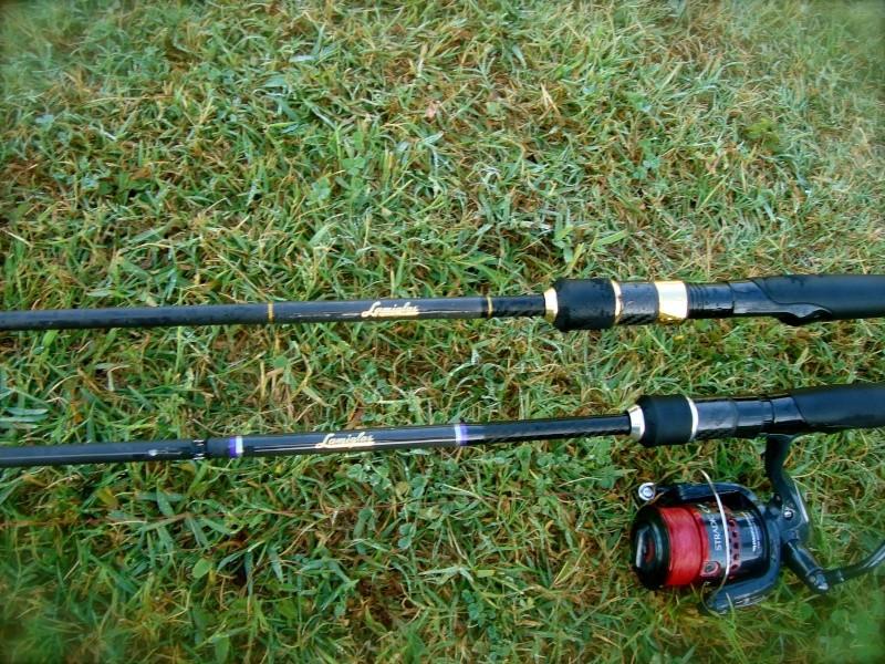 """Lamiglas XP Bass PRO 904 1/4-1 10-20 LB 7'6"""" Dsc04619"""