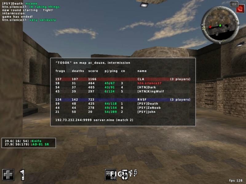1v1 Clan Match 20130715