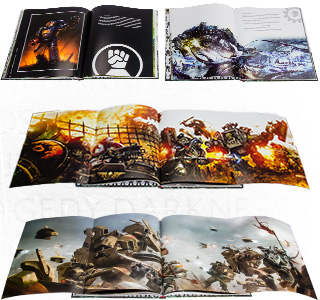 [Space Marine Battles] Visions of War - Artbook 31-10-10