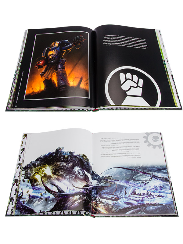 [Space Marine Battles] Visions of War - Artbook Produc14