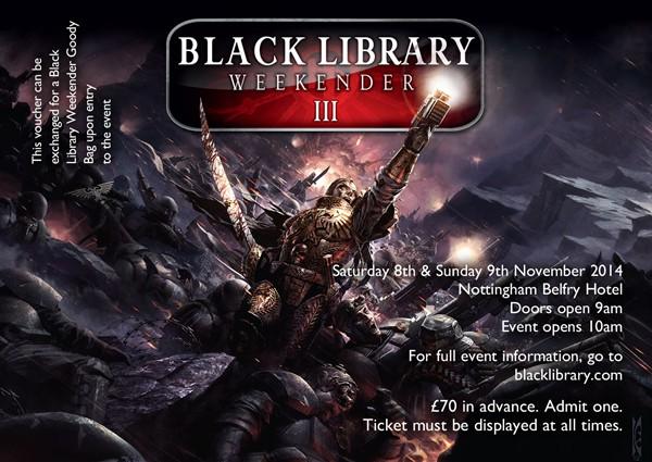 [Black Library Weekender 2014] Préparation, questions et autre Silver10