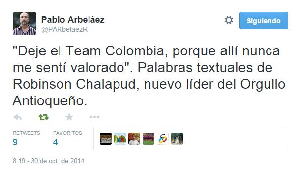 TEAM COLOMBIA 2014 - Página 10 Chala10