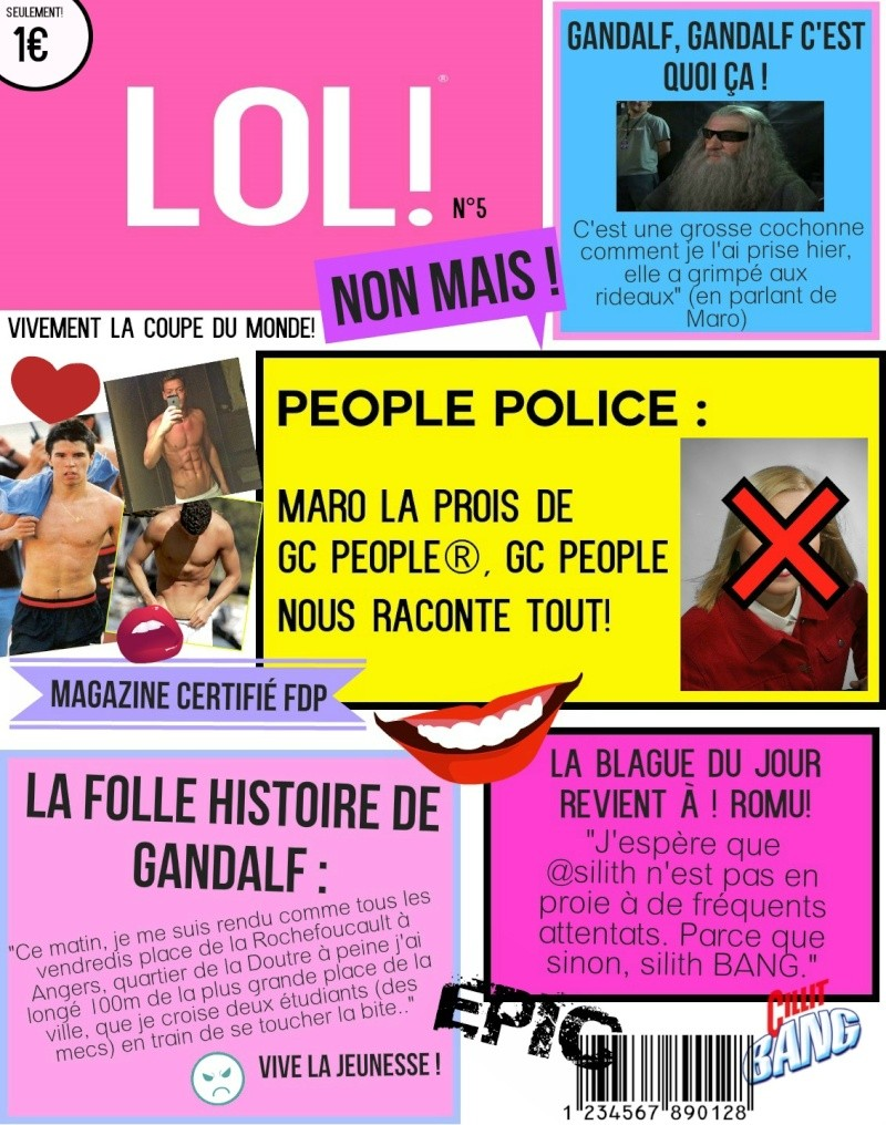 LOL! - COUVERTURE DE SEPTEMBRE [P9] - Page 4 Step411