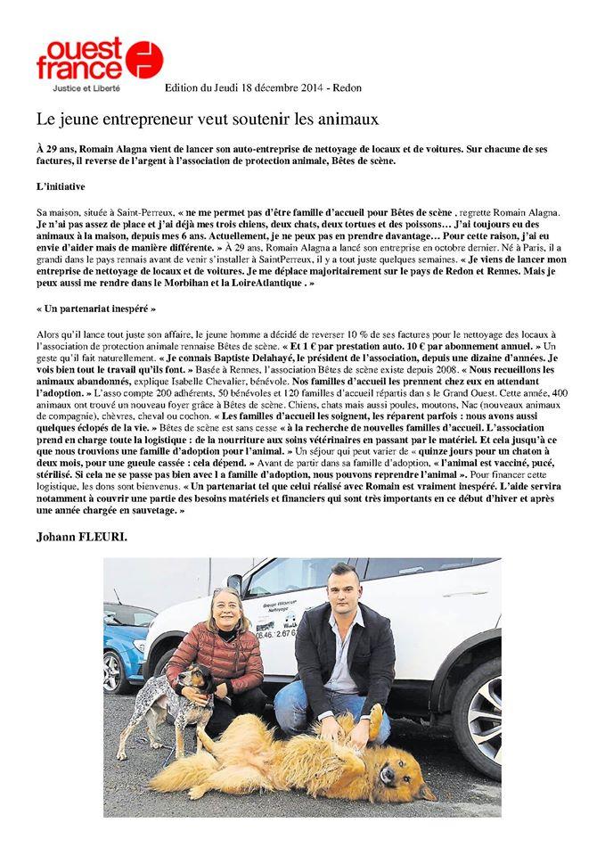 BdS dans  Ouest France  10864010