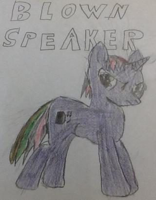 Blown Speaker Screen15