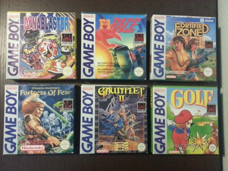 la gameboy collection FAH (Mise à jour photos des jeux en boite) 20140731