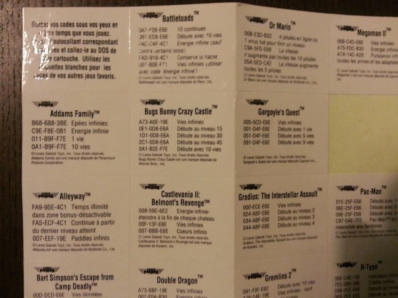 la gameboy collection FAH (Mise à jour photos des jeux en boite) - Page 3 20140767