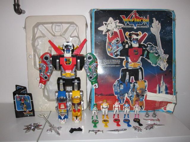Voltron Mattel 1984 V110