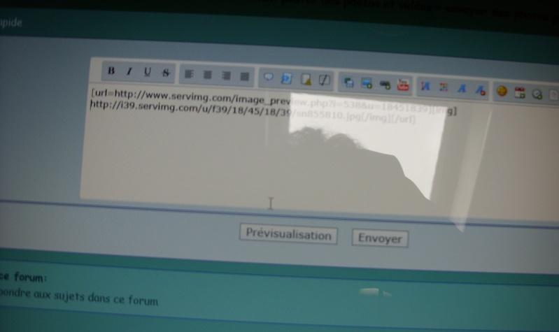 envoyer des photos probleme Sn856412