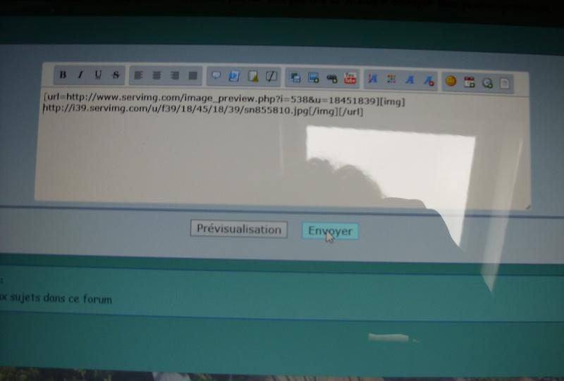 envoyer des photos probleme Sn856413
