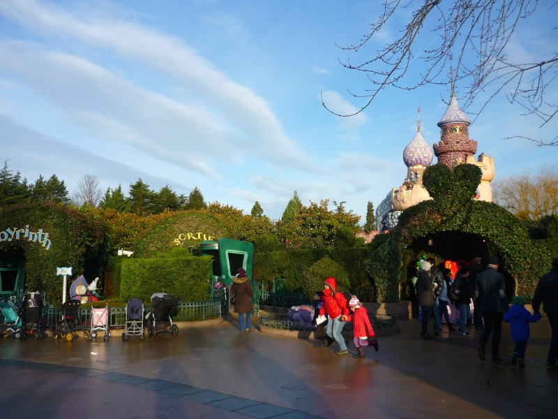 Séjour au Sequoia Lodge du 29 Décembre 2013 au 3 Janvier 2014 - Réveillon à Disneyland Paris !  Terminé le 12 Novembre! P1080016