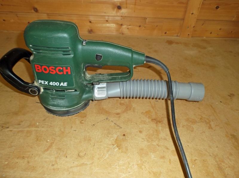 Ponceuse excentrique Bosh PEX 400 AE et poussière Dscf0214