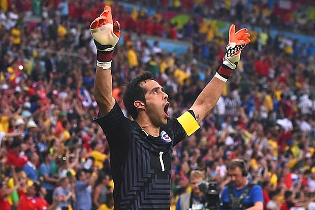 """CLAUDIO BRAVO """"SU PRESENTACION 7/07/14"""" SUS PRIMERAS PALABRAS COMO CULE """"EL BARÇA OFICIALIZA SU FICHAJE, LA TRAYECTORIA DE CLAUDIO BRAVO"""" NUEVO JUGADOR DEL FC BARCELONA 18/06/14  (VIDEOS) Claudi10"""