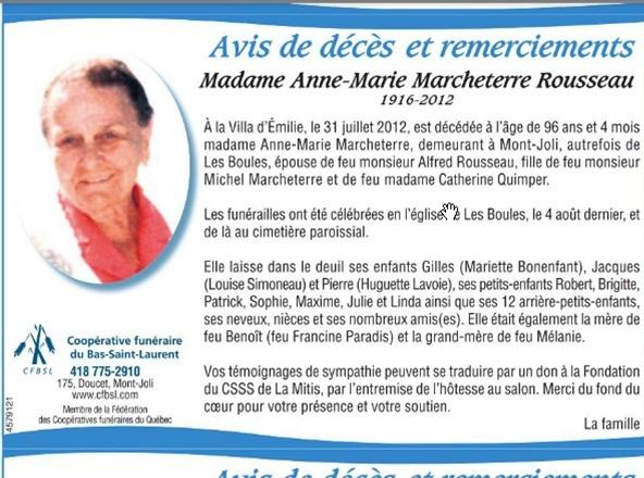 Marcheterre, Anne-Marie Rousseau Anne-m12