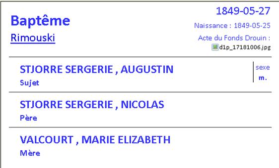 décès de Delvina St-Jore épouse de François Pelletier August10