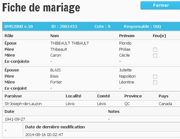 mariage de Juliette Blais Image210