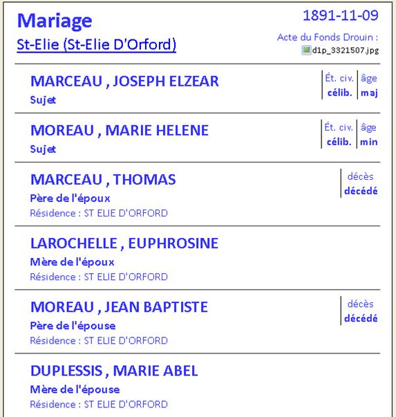 Moreau & Duplessis  Mariag25