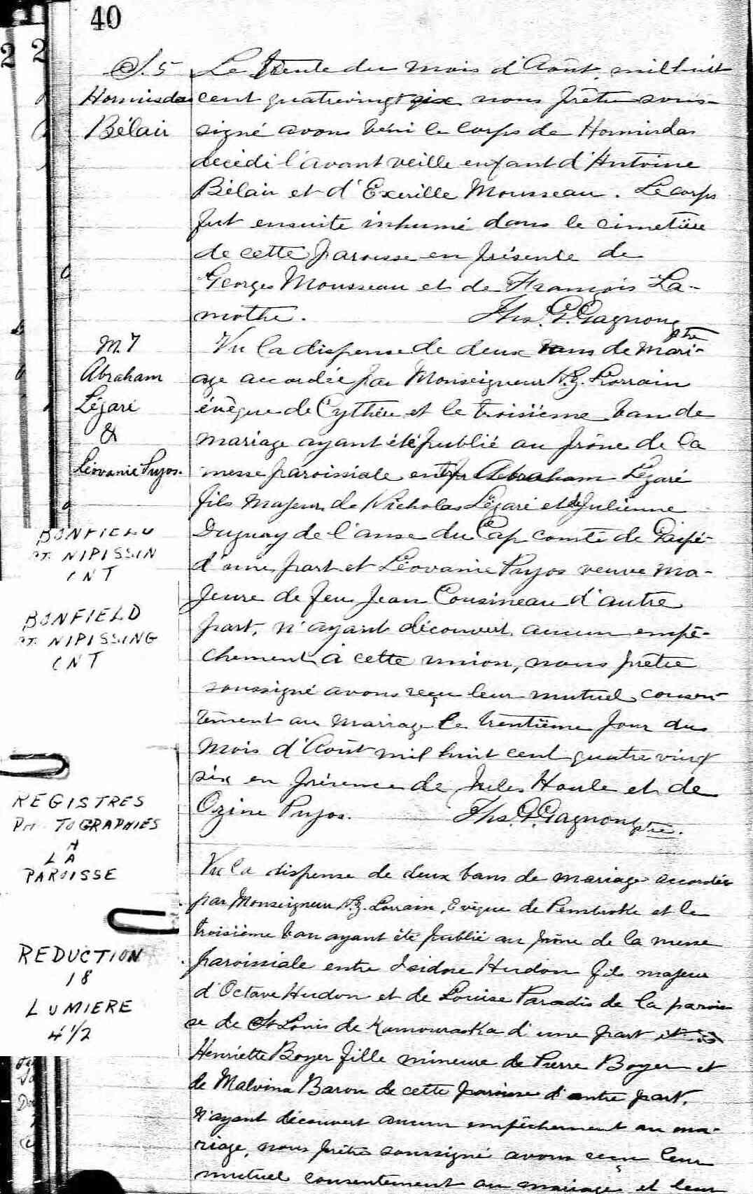 Dégari, De Garis, Nouvelle lignée Dégari - Page 2 Mariag66
