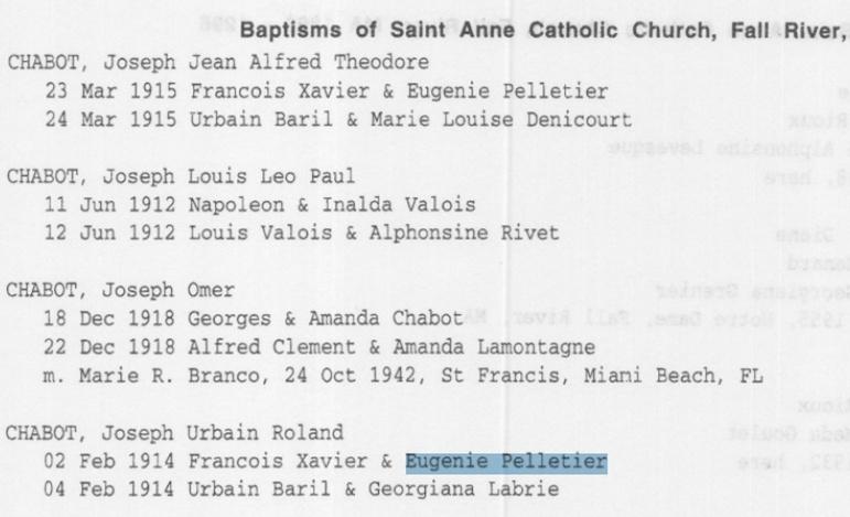 décès de Delvina St-Jore épouse de François Pelletier Naissa37