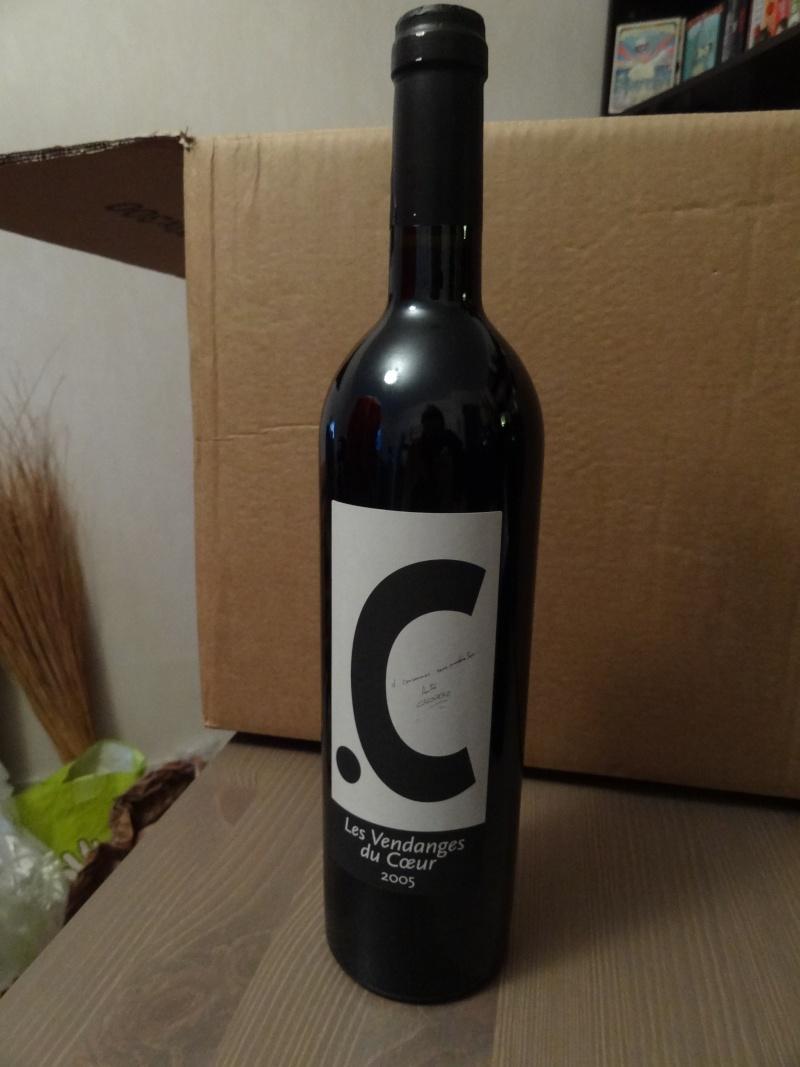 à vendre bouteille vin Calogero Les Vendanges du Coeur Dsc04111
